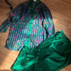 Victoria's secret pajamas set for girls